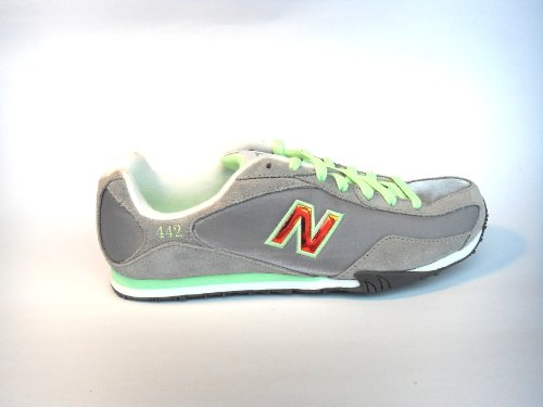 New Balance New Balance Ladies Women WL442LNS Trail Shoe 7B GRAY LIME