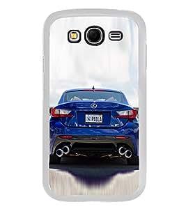 Luxury Blue Car 2D Hard Polycarbonate Designer Back Case Cover for Samsung Galaxy Grand I9082 :: Samsung Galaxy Grand Z I9082Z