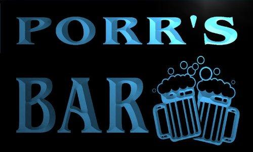w047091-b-porrs-name-home-bar-pub-beer-mugs-cheers-neon-light-sign