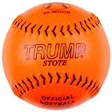 Trump® AK-INDOOR 12 Inch .44 Core Synthetic Leather Softball (Sold in Dozens)