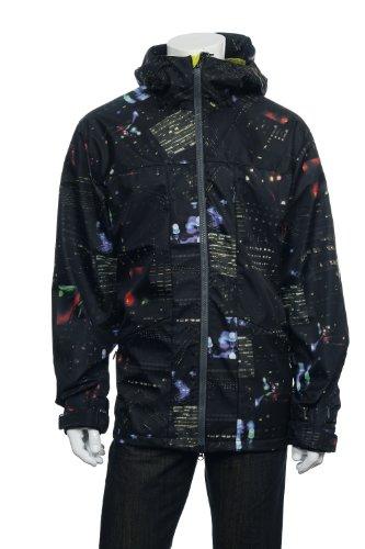 Burton Idiom Mens Black Graphic Soft Shell Jacket<br />