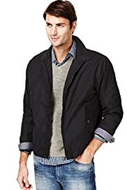 Big & Tall Classic Collar Harrington Jacket with Stormwear&#8482;