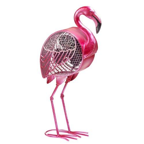 Deco Breeze Figurine Fan, Flamingo
