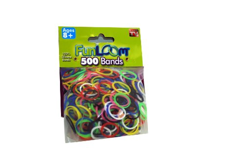 Original Fun Loom Refill Bands 500pk - 1