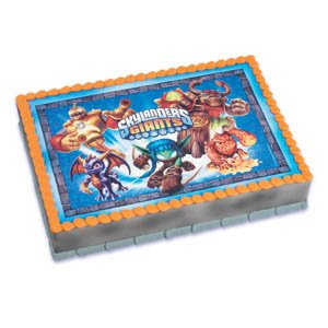 Read About Skylanders Giants Personalized Edible Image
