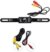 Esky® High Definition Color Wide Viewing Angle Universal Waterproof Car Rear View License Plate Backup Camera