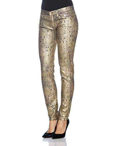 7 For All Mankind Skinny-Jeans Fit [Blu Navy/Oro]