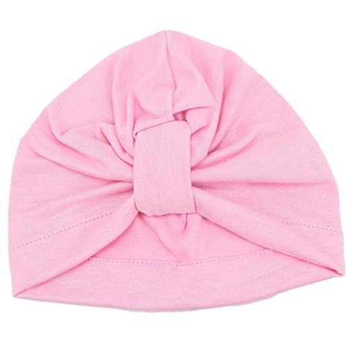 Girl Bohemia Hat, Misaky Cute Lovely Soft Cute Baby Cap (Pink)