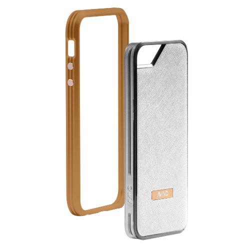 Great Price Avivo Rail Carbonate / Apple iPhone 5 & 5S Polycarbonate Rail Visor Case (Burnt Orange + White Texture Jacket)