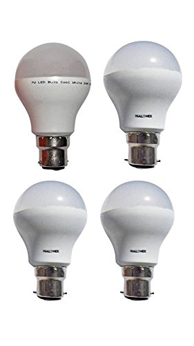 5W-B22-LED-Bulb-(White,-Pack-of-4)-