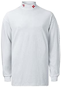 Nebraska Cornhuskers College Long Sleeve White Mock By Adidas by adidas