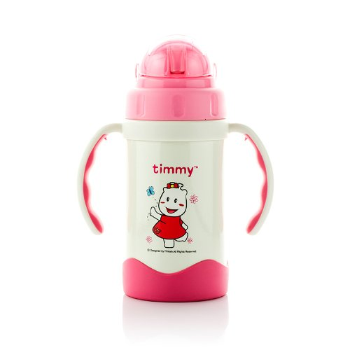 Timmy Stainless Steel Straw Kid's Bottle Trainning Cup,10 Ounce,300ml,3220 - 1