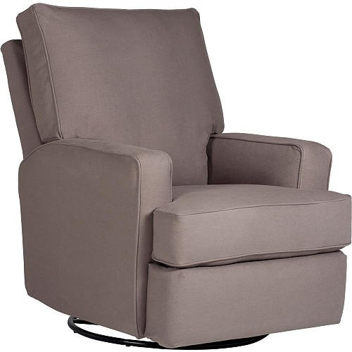 Kersey Upholstered Swivel Glider Recliner Shadow