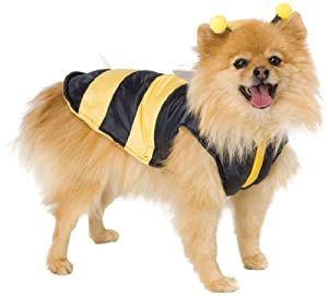 Leg Avenue Dog Costumes Bumble Bee Costume, Size: XSMALL