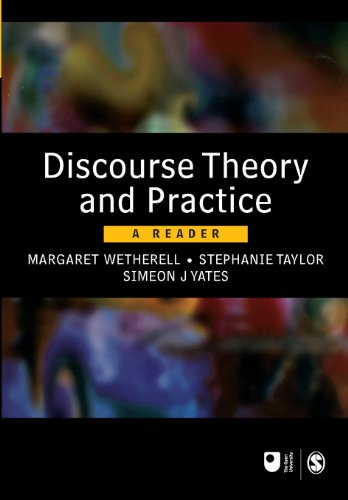 Discourse Theory and Practice: A Reader (Published in...