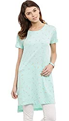 Feather Mint Tunic - S