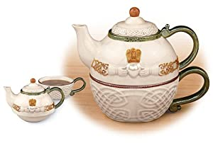 Celtic Claddagh Tea-For-One from Creative Irish Gifts
