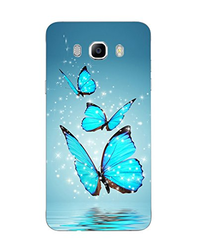 e3b30c831 Buy Case Cover Butterfly Printed Blue Soft Silicon Back Cover For Samsung  Galaxy J7 2016 on Amazon   PaisaWapas.com