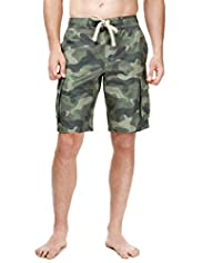 North Coast Camouflage Swim Shorts