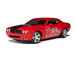 Highway 61 Phillies Dodge Challenger Diecast Car 1:18
