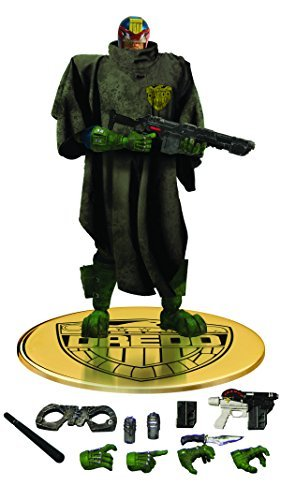 Mezco Toys One-12 Collective: Judge Dredd The Cursed Earth Action Figure by Mezco
