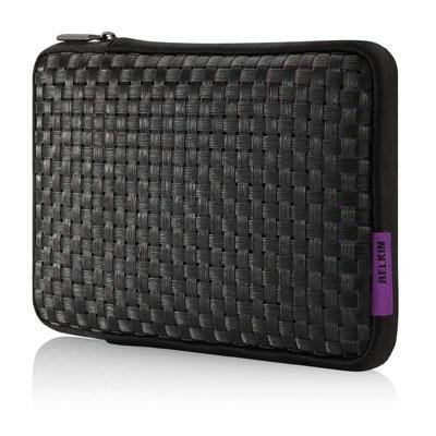 New Belkin F8N572TTC01 7inch Merge Tablet PC Case For Ipad Purple Black Sleeve Style Easy-Grip