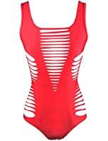 BSLINGERIE® Ladies Fashion Sexy Hollow Out Monokini One Piece Swimsuit