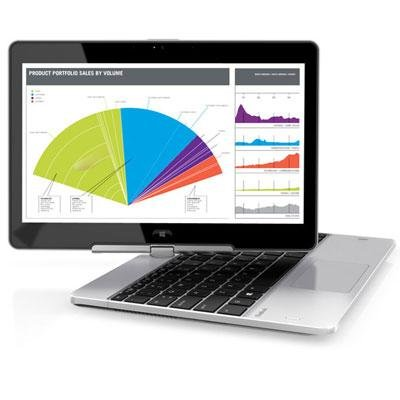 Hp F7W52Ut Elitebook Revolve 810 G2 Tablet - Convertible - Core I3 4010U / 1.7 Ghz - Windows 7 Pro 64-Bit / Windows 8.1 Pro Downgrade - Pre-Installed: Windows 7 - 4 Gb Ram - 128 Gb Ssd - 11.6 Inch Touchscreen Hd Uwva Anti-Glare 1366 X 768 ( Hd ) - Intel H