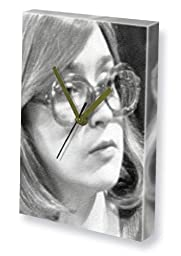 ANNE KIRKBRIDE - Canvas Clock (LARGE A3 - Signed by the Artist) #js001