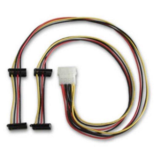 アイネックス HDD用電源4分岐ケーブル SATA用 D4-3505SA