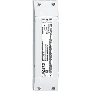 Merten 577798 Elektronischer Transformator mit integriertem Dimmer 105 W, 35105 W, polarweiß  BaumarktKundenbewertung und weitere Informationen