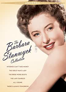 The Barbara Stanwyck Collection (Internes Can't Take Money / The Great Man's Lady / The Bride Wore Boots / The Lady Gambles / All I Desire / There's Always Tomorrow)