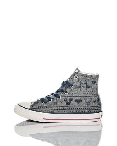 Converse Zapatillas All Star Felt Print Gris / Azul