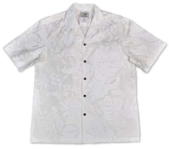 mens 100 cotton makapuu hawaiian wedding shirt at amazon