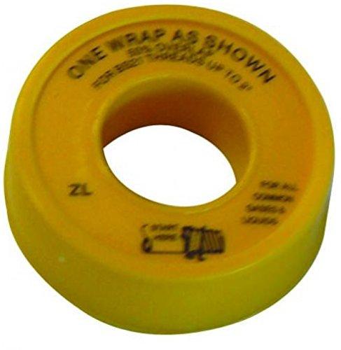 British genehmigt Gas Gas Gas-PTFE-Tape Klebeband, 12 mm x 5 m, Weiß