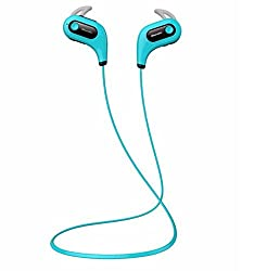 Bluedio S6 sport headset - fashionable shape & fully compatible with smart Blue colour