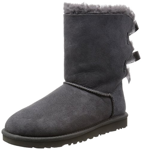 ugg damen boots bailey button 5803 nuss
