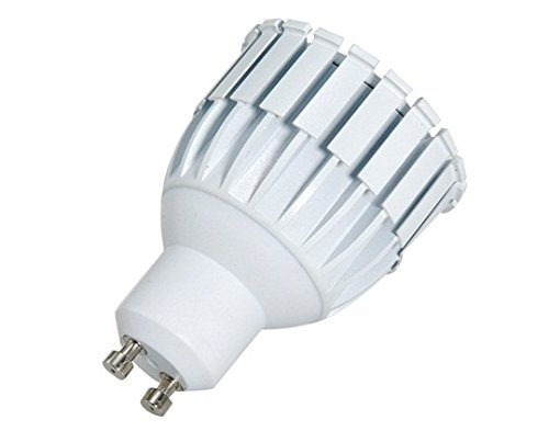 Gu10 7W 85-265V 3200K Warm White 700Lm Cob Led Spot Bulb
