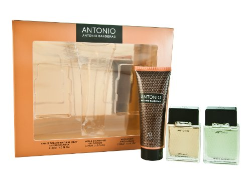 Antonio Antonio Banderas Gift Set for Men (Eau De Toilette Spray 30 ml, Aftershave 30 ml and Bath and Shower Gel 75 ml)
