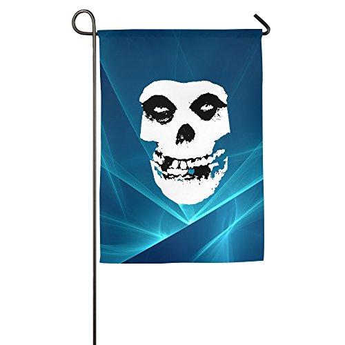 Umison Classic Joker Clown Skull Decorative Garden Flag Classic Outdoor Banner 1827inch (Misfits Bullet Vinyl compare prices)