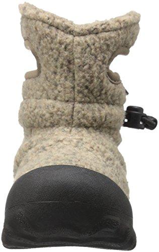 Bogs Baby B-MOC Fleece Winter Snow Boot (Toddler), Cocoa, 4 M US Toddler