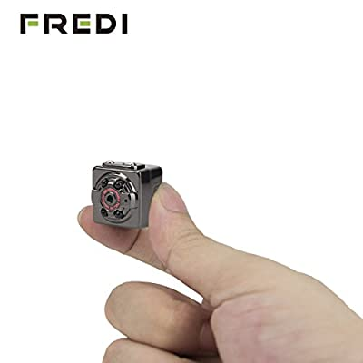 FREDI® HD 1080P Indoor/Outdoor Sport Portable Handheld Mini Hidden Spy Camera DV Voice Video Recorder with Infrared Night Vision,Video,PC Camera,Record,Take Photos,Motion Detecting,TF Card Slot