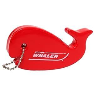 New Boston Whaler Foam Floating Whale Keychain