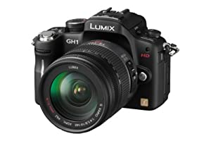 Panasonic DMC-GH1K 12.1MP Four Thirds Mirrorless Digital Camera with 1080p HD Video