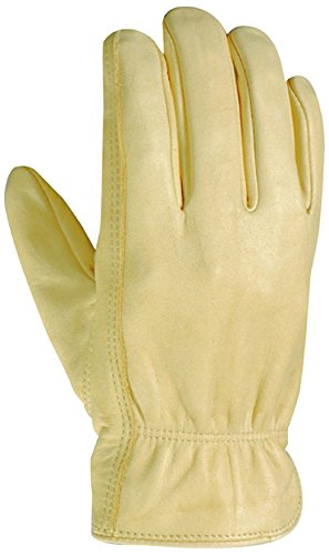 Wells Lamont 1130XXX Men's All Purpose Glove, Full Leather Grain Cowhide with Reinforced Palm Patch and Keystone Thumb, Palomino, XXX-Large