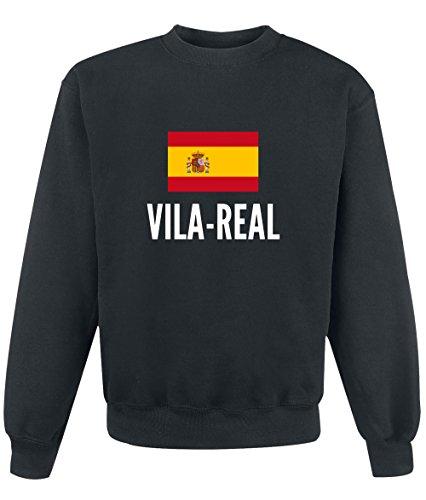 Felpa Vila real city Black