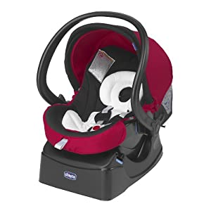 Chicco Autofix Car Seat (Red Wave)