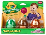 CRAYOLA TADOODLES WASHABLE FIRST MARKS
