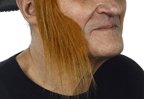 Ginger mutton chops sideburns