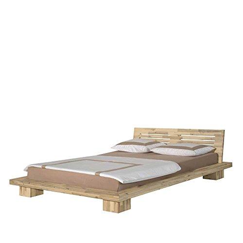 Holzbett-aus-Akazie-Massivholz-Kopfteil-Liegeflche-160x200-Pharao24